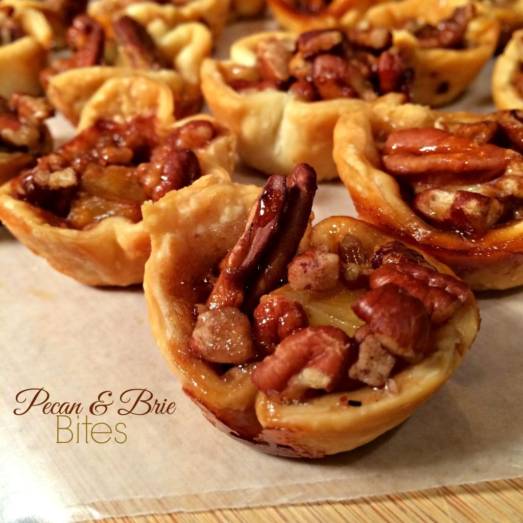 Pecan and Brie Bites