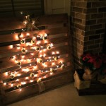 #DIY Christmas Patio Decorations