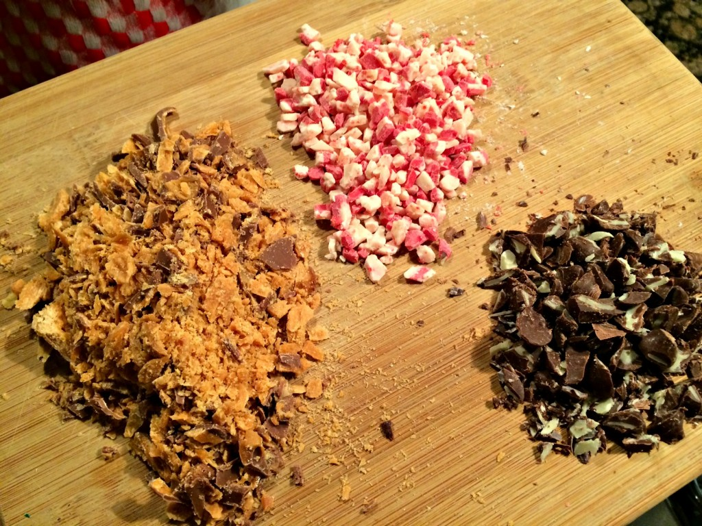 Crockpot Candy aka Peanut Clusters Toppings