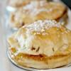 Apple and Caramel Pie in Mason Jar Lids