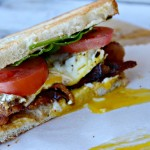 BLT & Fried Egg Sandwich