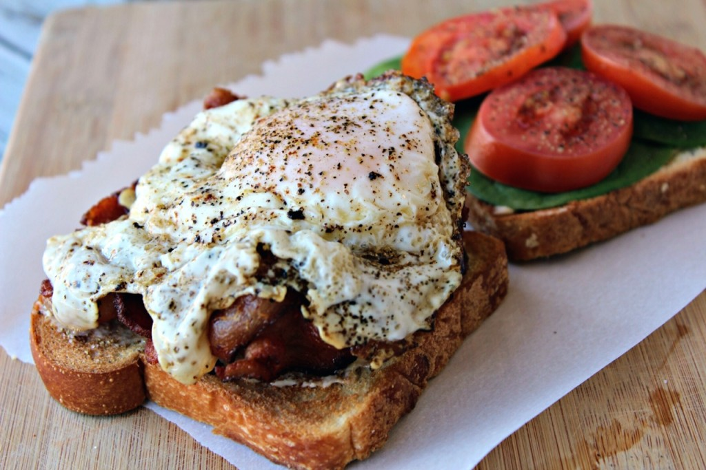 BLT & Fried Egg