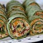 Bacon and Ranch Tortilla Pinwheels #SuperBowlFood