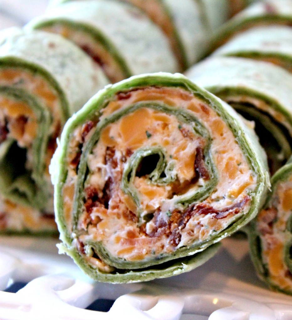 Bacon and Ranch Pin Wheels aka Roll Ups