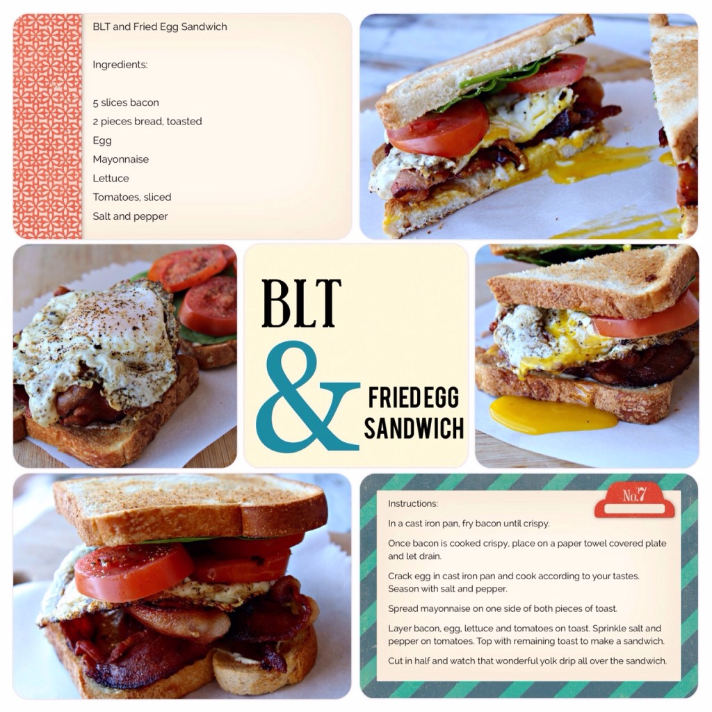 SB Page BLT Fried Egg Sandwich