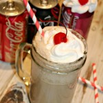 Coke Cream Soda Float