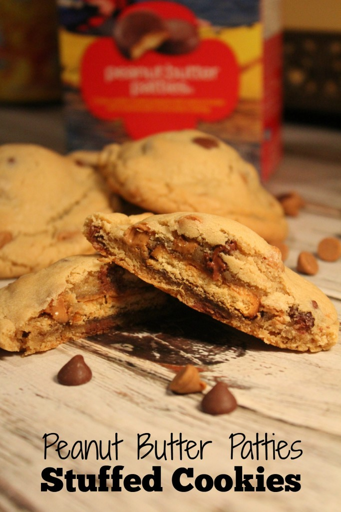 Peanut Butter Patties Stuffed Cookies