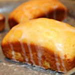 Lemon Raspberry Mini Loafs #ReadingFoodie: Shopaholic to the Stars
