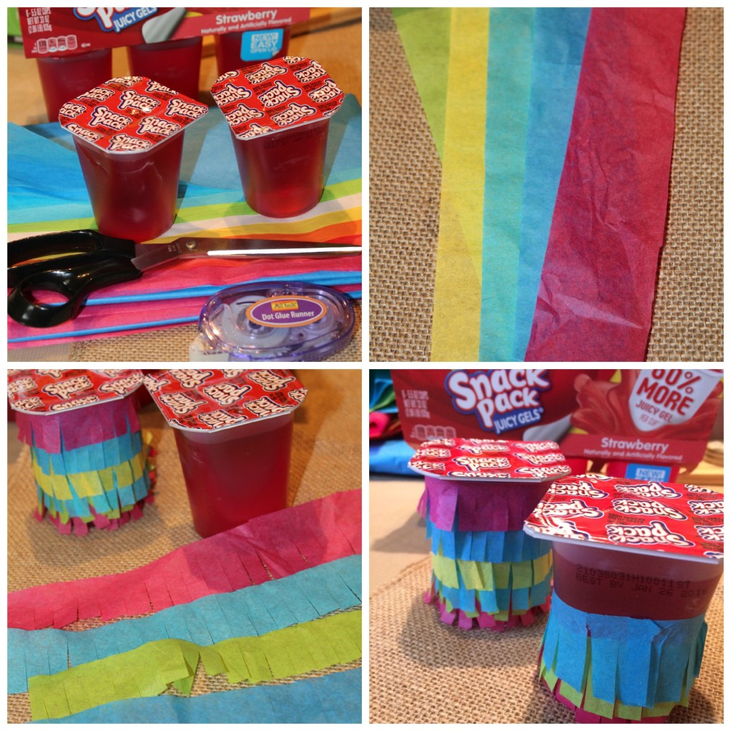 Edible Pinata Craft Collage
