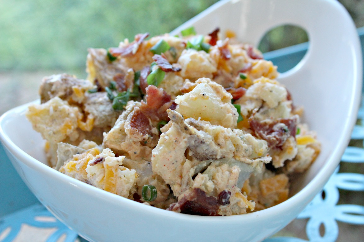 Bacon Ranch Salad, Now In Vegan Form Recipe — Dishmaps