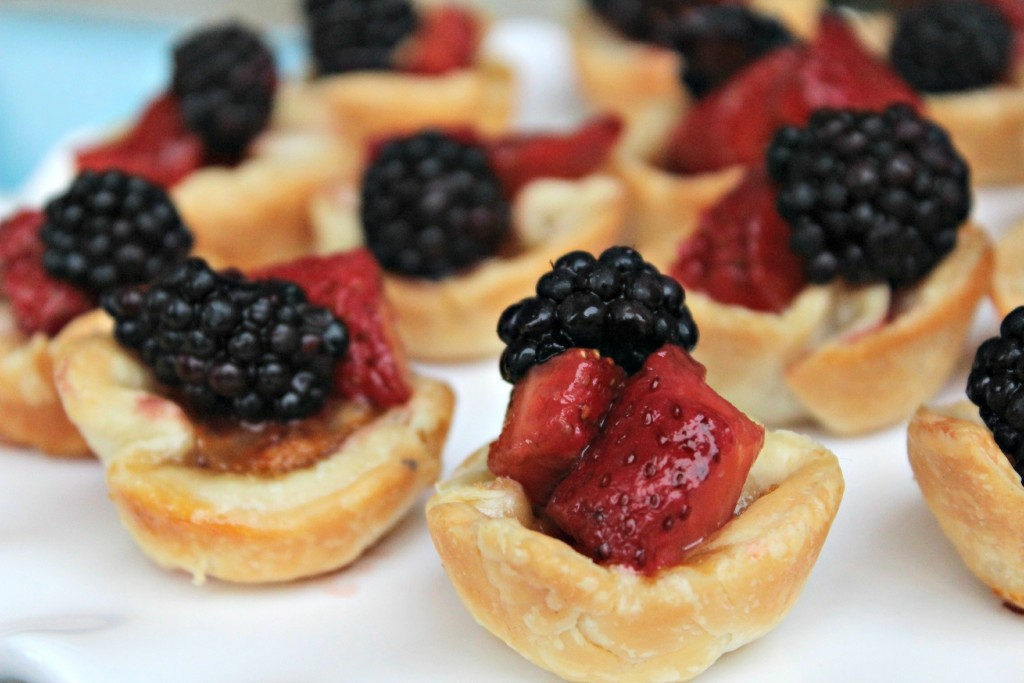 Berry and Brie Tarts