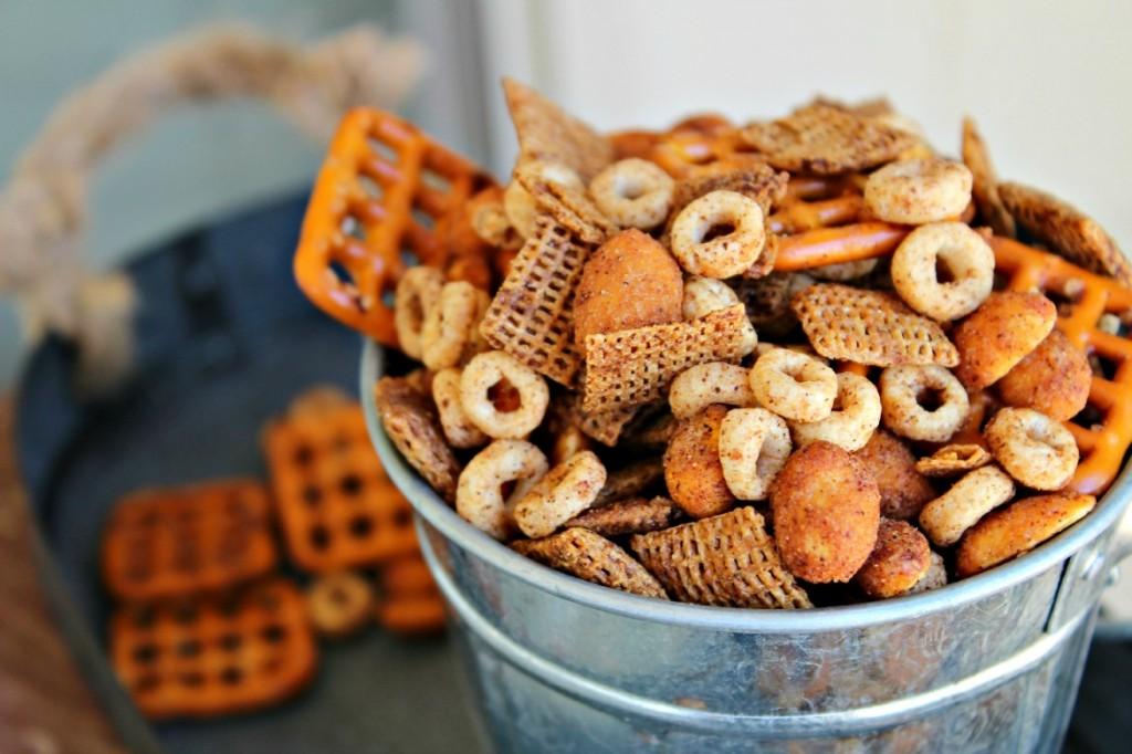 Churro Snack Mix