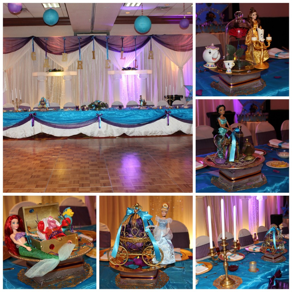 Quinceanera Head Table Collage