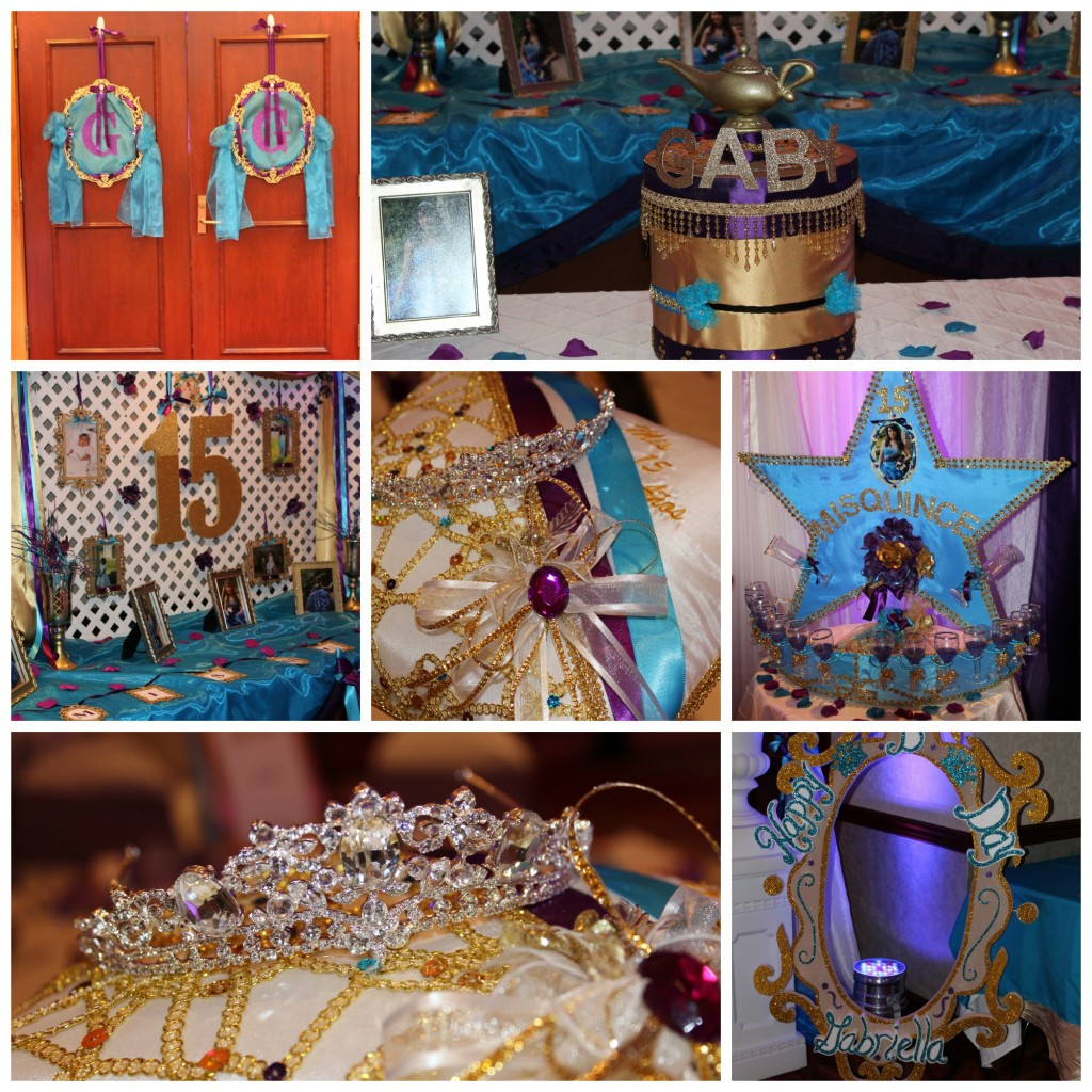 Quinceanera Misc Collage