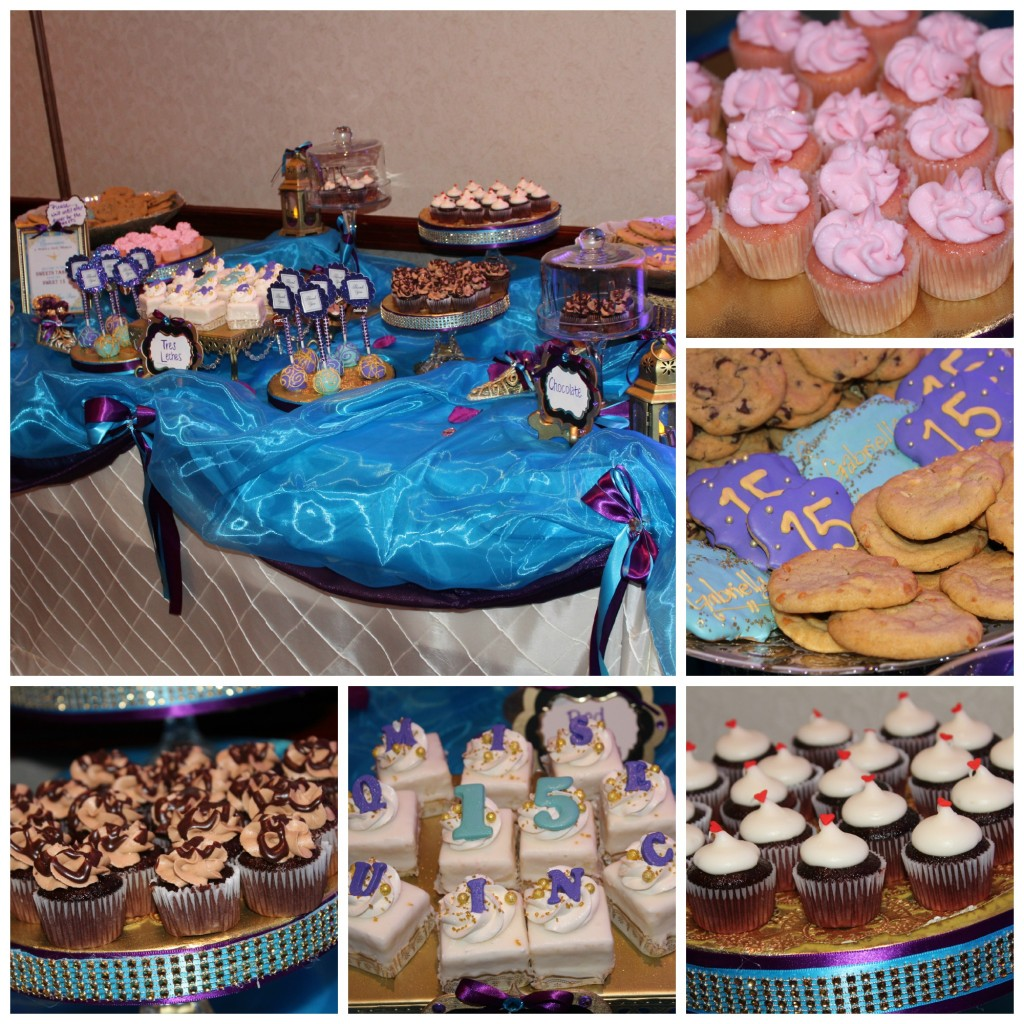 Quinceanera Sweets Collage