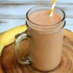 Nutella, Banana & Peanut Butter Smoothie