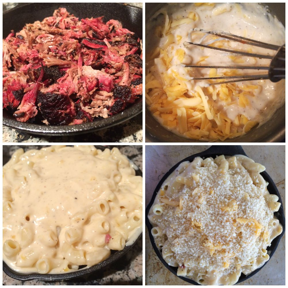 Smoked Cheddar And Blue Cheese Brisket Macaroni And Cheese Recipes ...