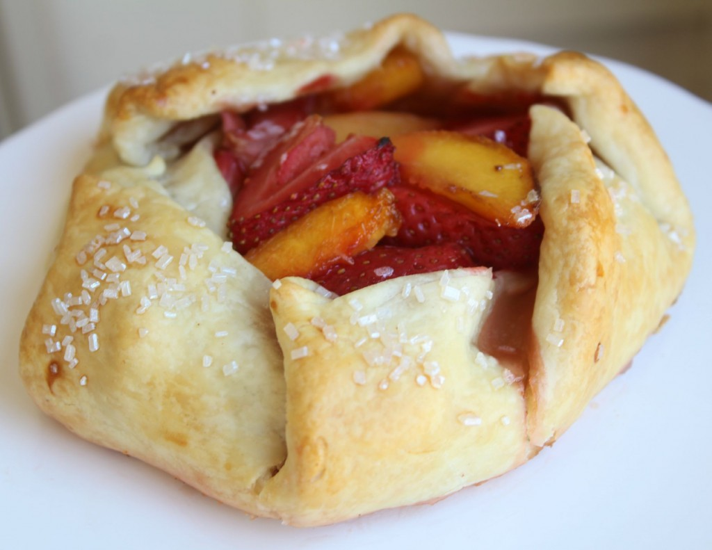 Strawerry & Peach Galettes