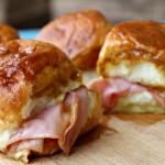 Small Batch Ham, Boursin & Swiss Sliders