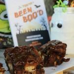 Ooey Gooey Chocolate Chip Brownie Bars #BOOItForward