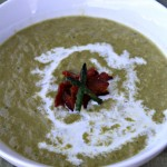 Cream of Asparagus Soup #ReadingFoodie: Stir