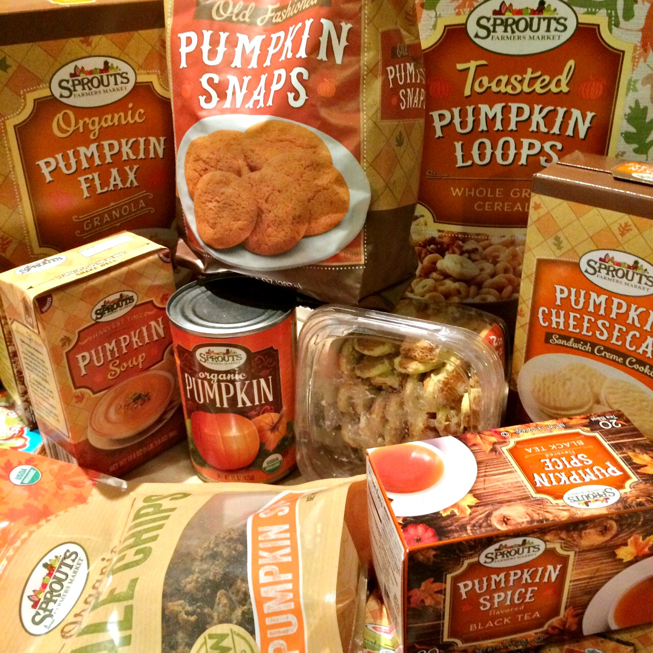Sprouts Pumpkin Items