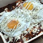 Sweet Potato, Queso Fresco and Black Bean Enchiladas