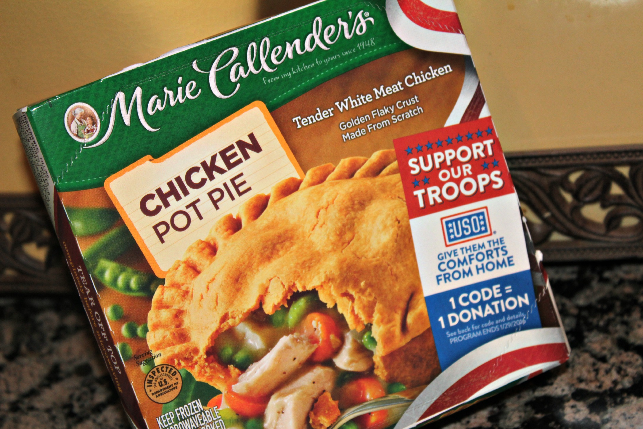 Marie Callenders Chicken Pot Pie Support our Troops