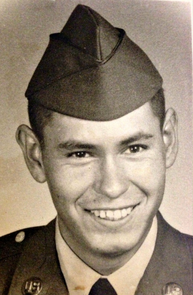 Marie Callenders Dad Military Pic