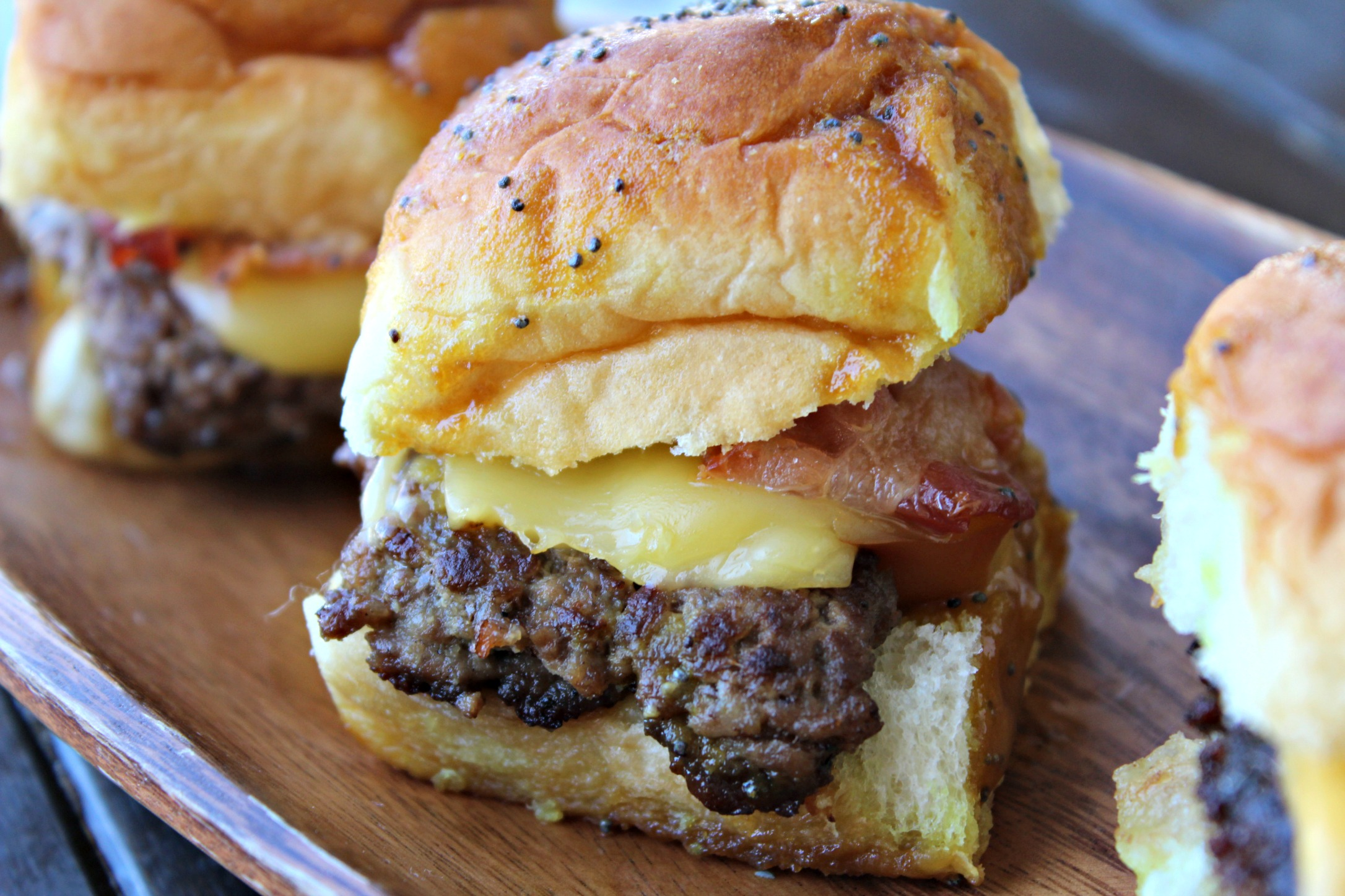 Bacon & Smoked Gouda Sliders