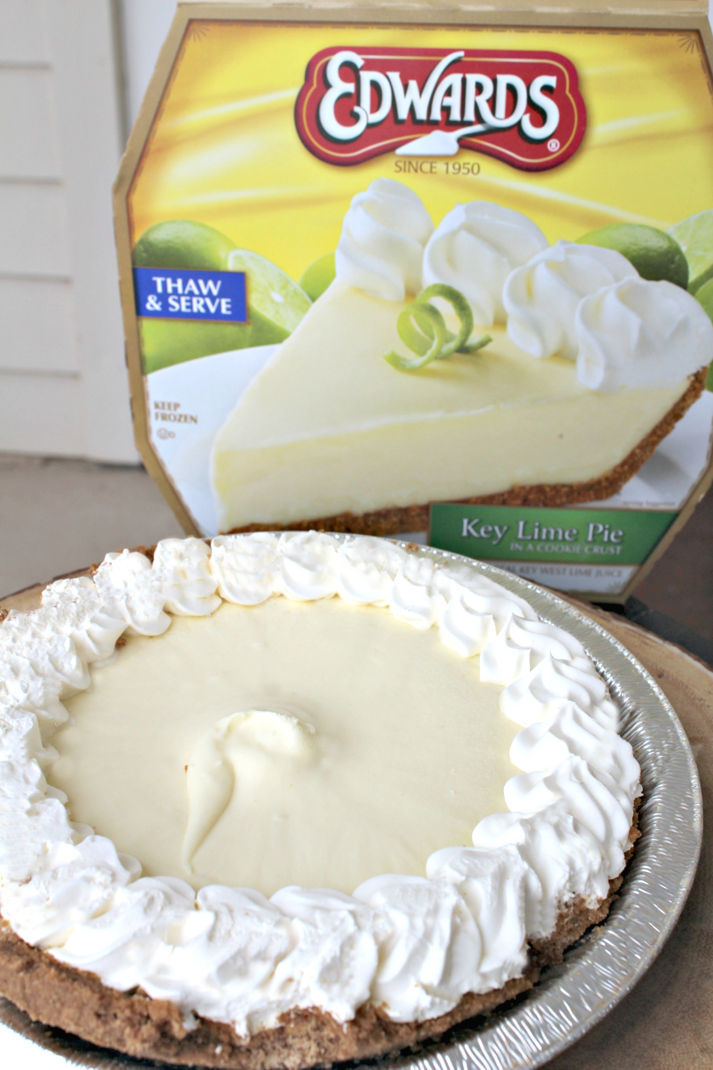 Brownie Bite Key Lime Pie