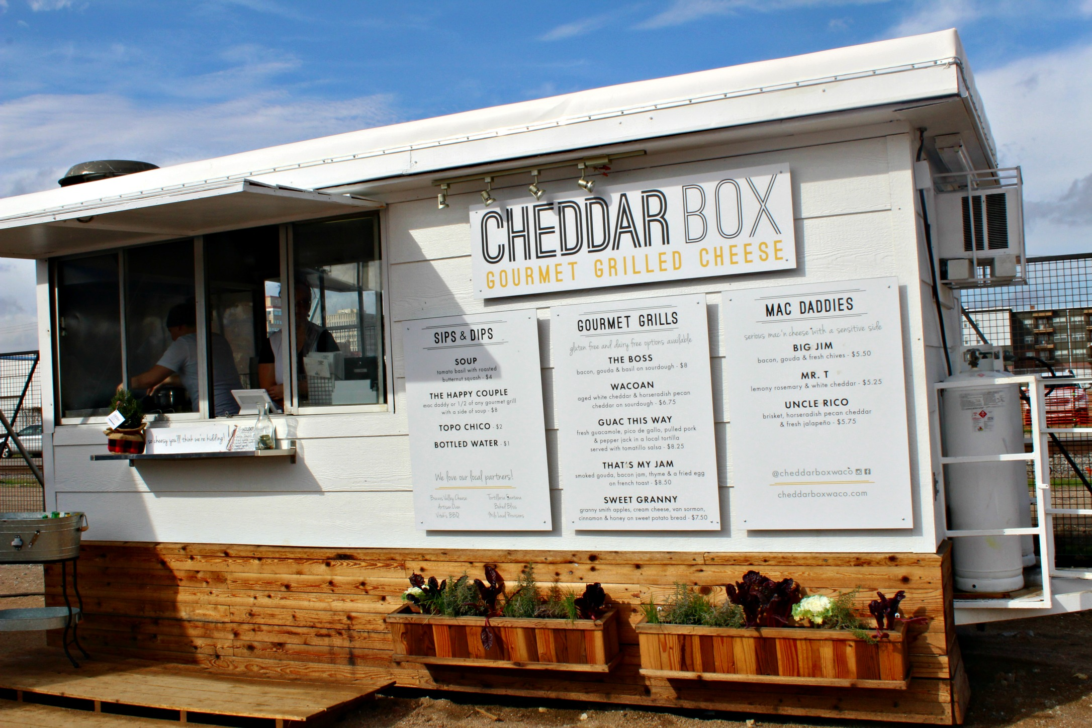 Magnolia Market Cheddar Box Food Truck