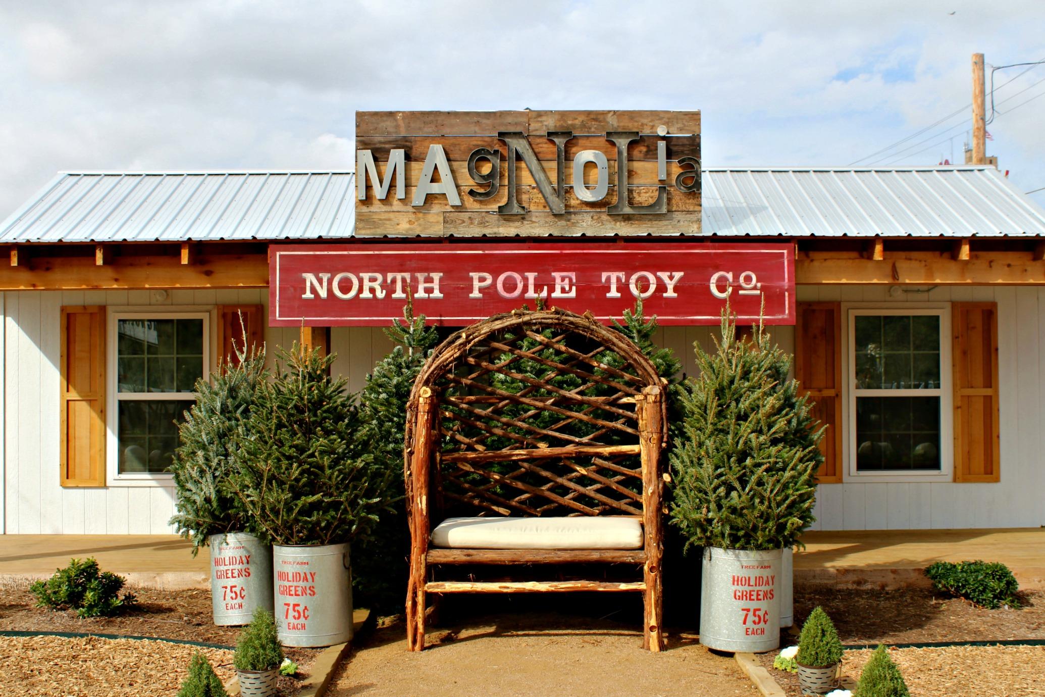 Magnolia Market Christmas Area