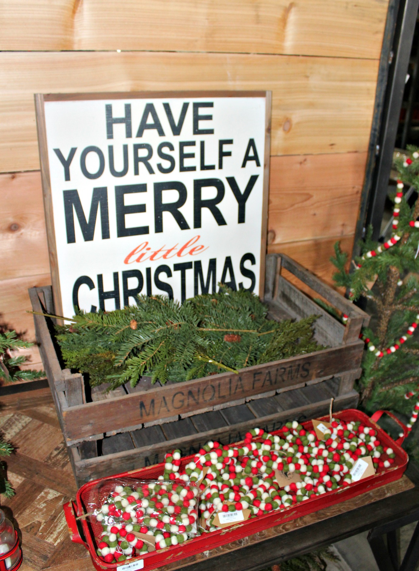Magnolia Market Christmas Decorations