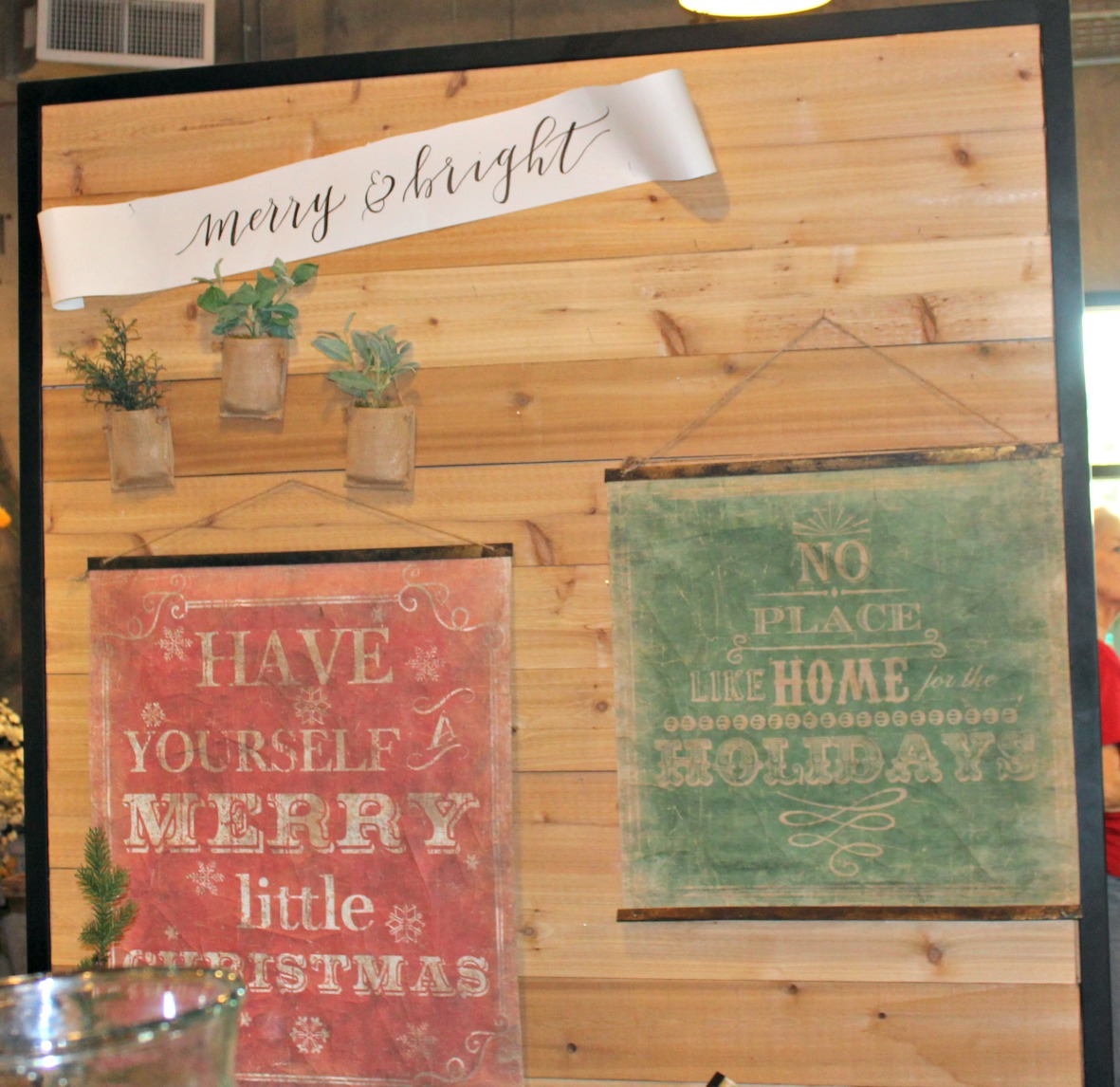 Magnolia Market Christmas Signs