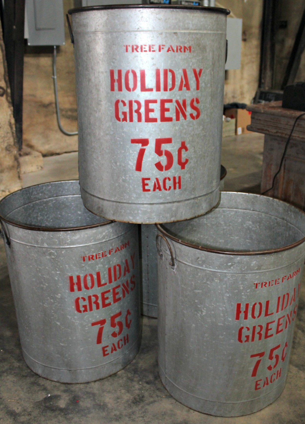 Magnolia Market Christmas Tins
