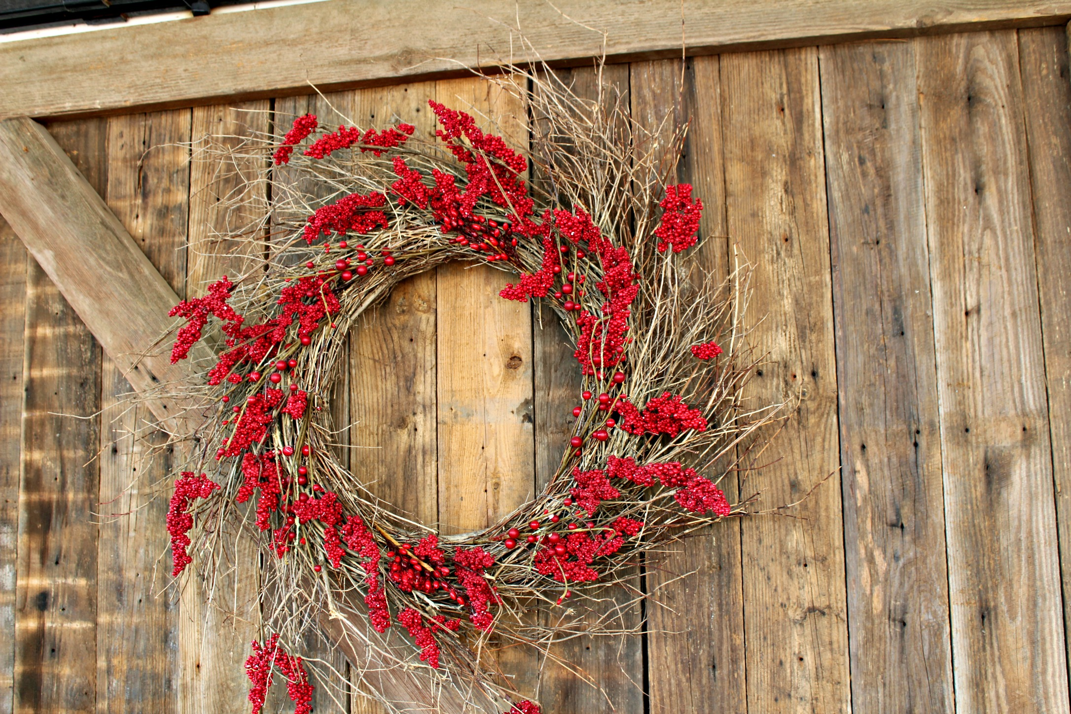 Magnolia Market Door Wreath