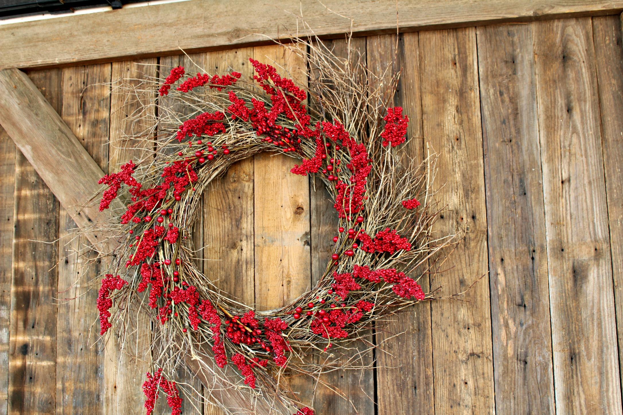 Magnolia Market Door Wreath