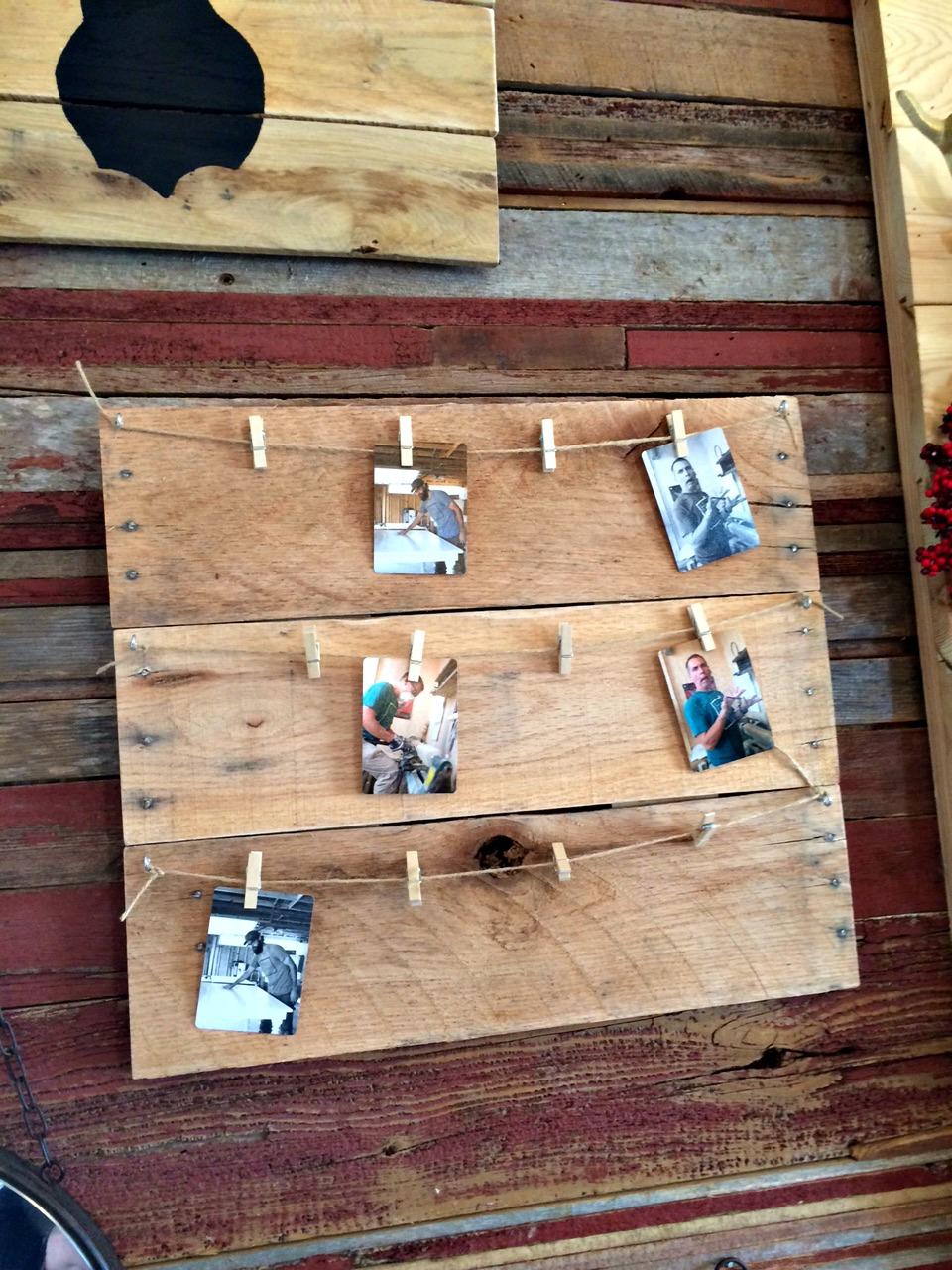 Magnolia Market Harp Design Photo Holder