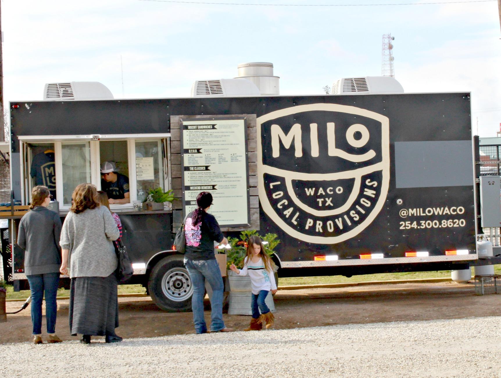 Magnolia Market Milo Food Truck