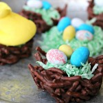 Chocolate Mint Easter Haystacks