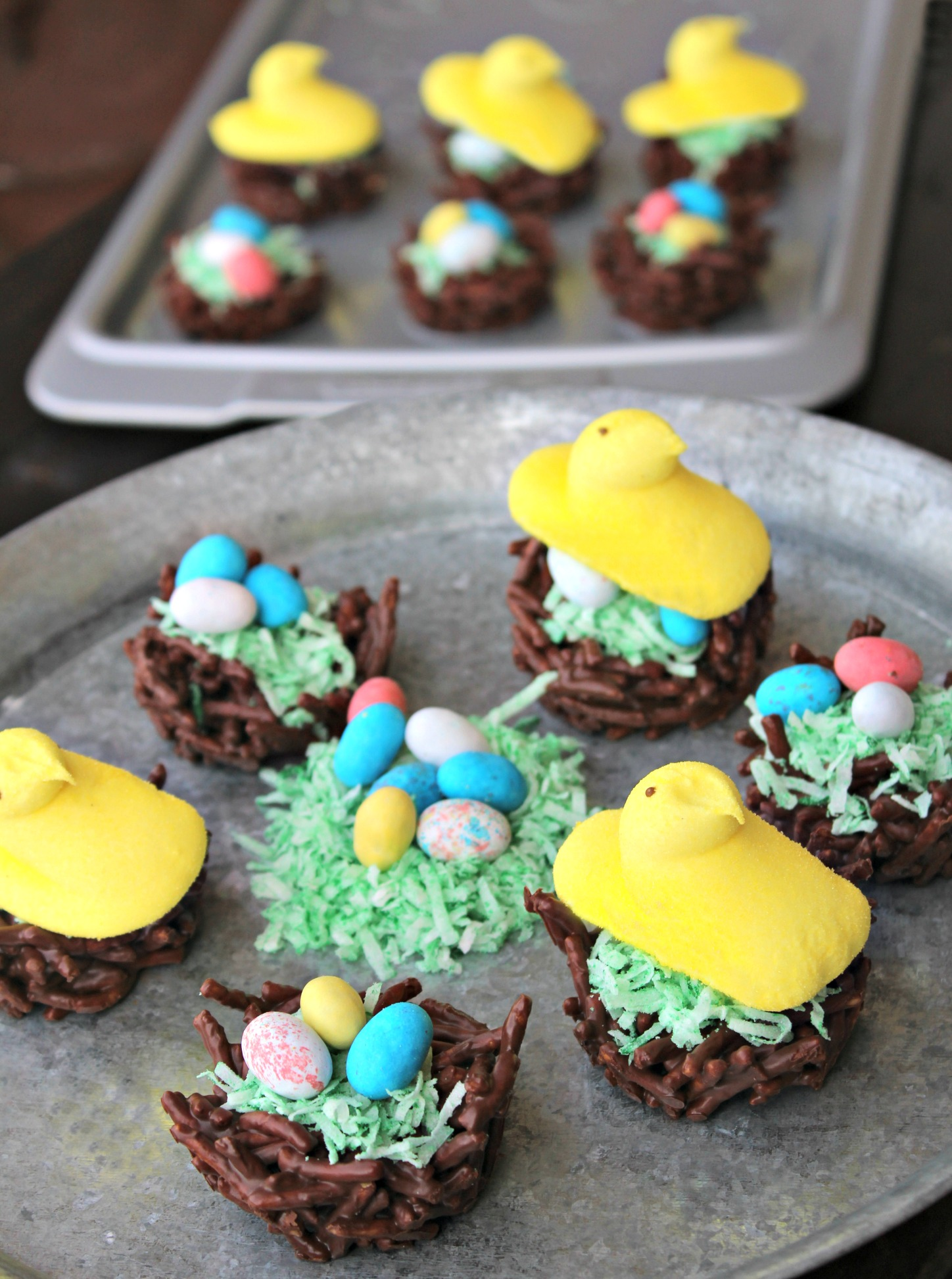 Chocolate Mint Haystacks