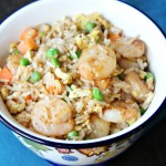 Shrimp Fried Rice for One
