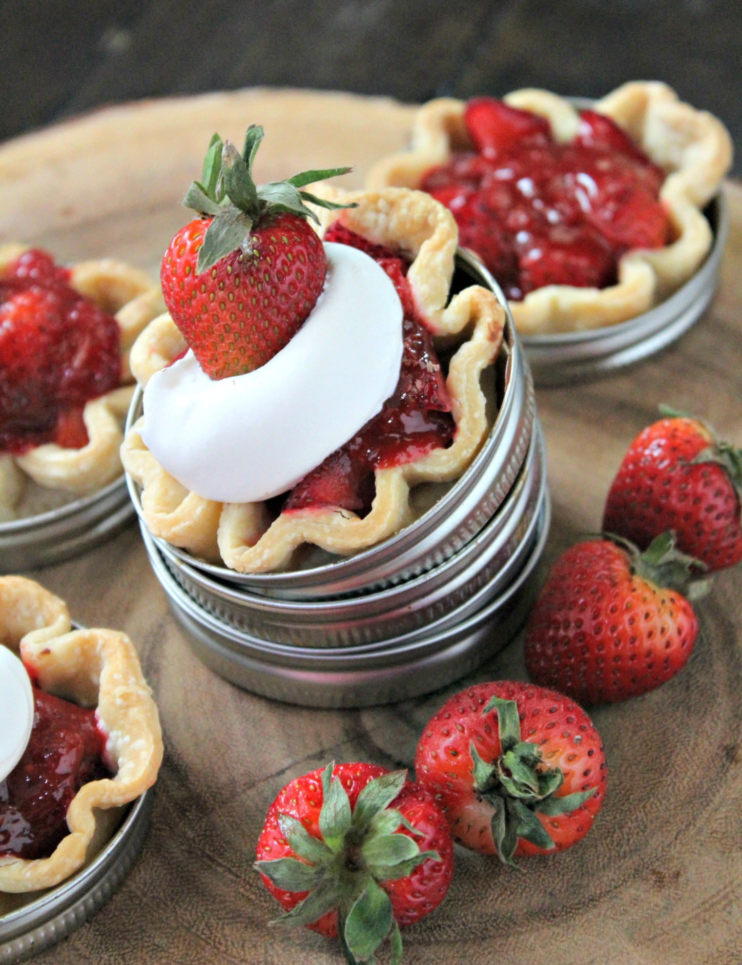 Balsamic Strawberry Pie