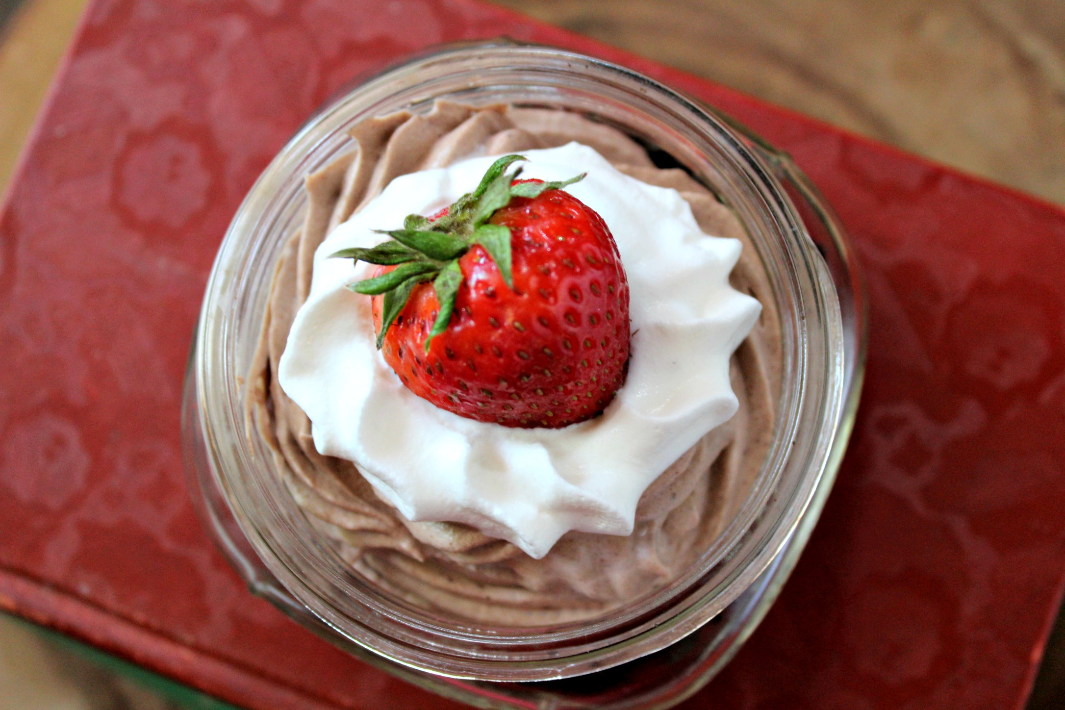 Simple Chocolate Mousse for One 4