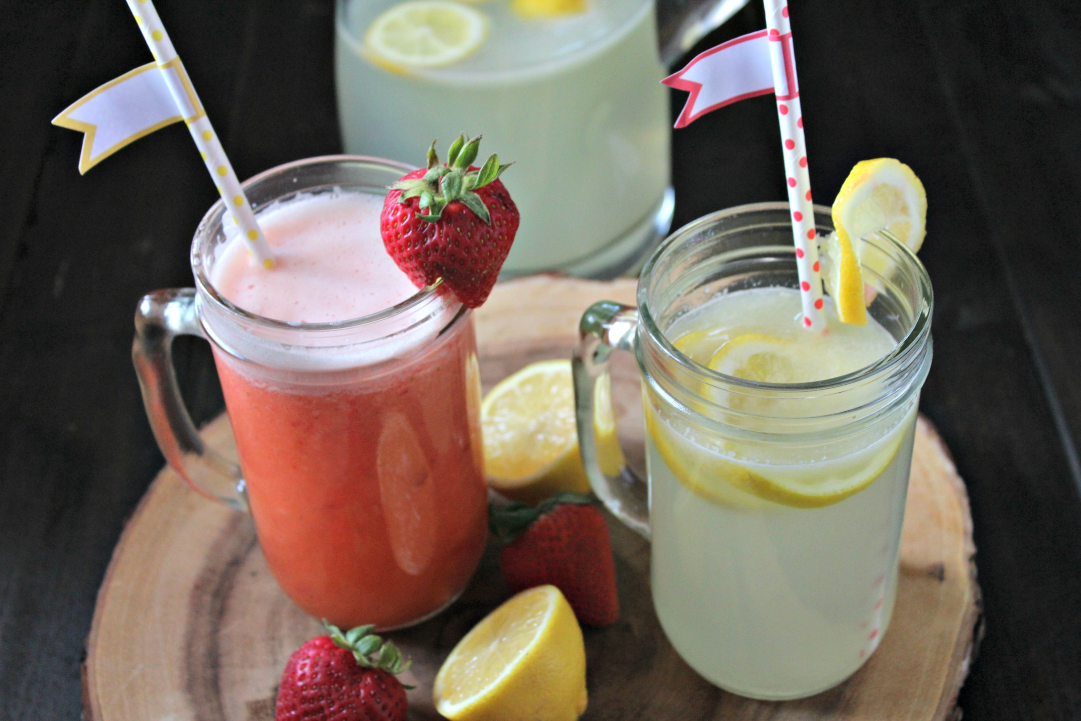 Diet Strawberry Lemonade 3