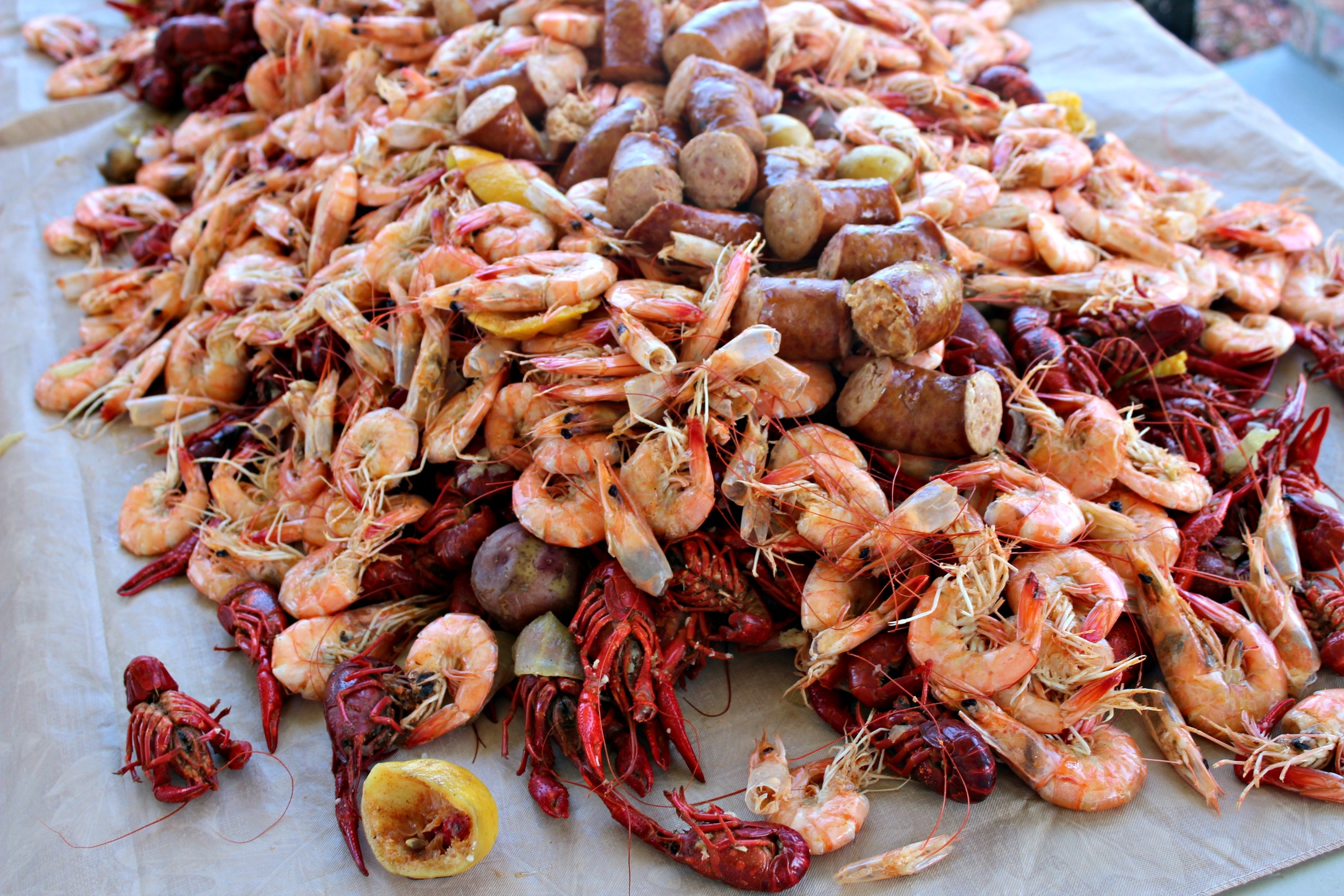 New Orleans Crawfish Boil 2