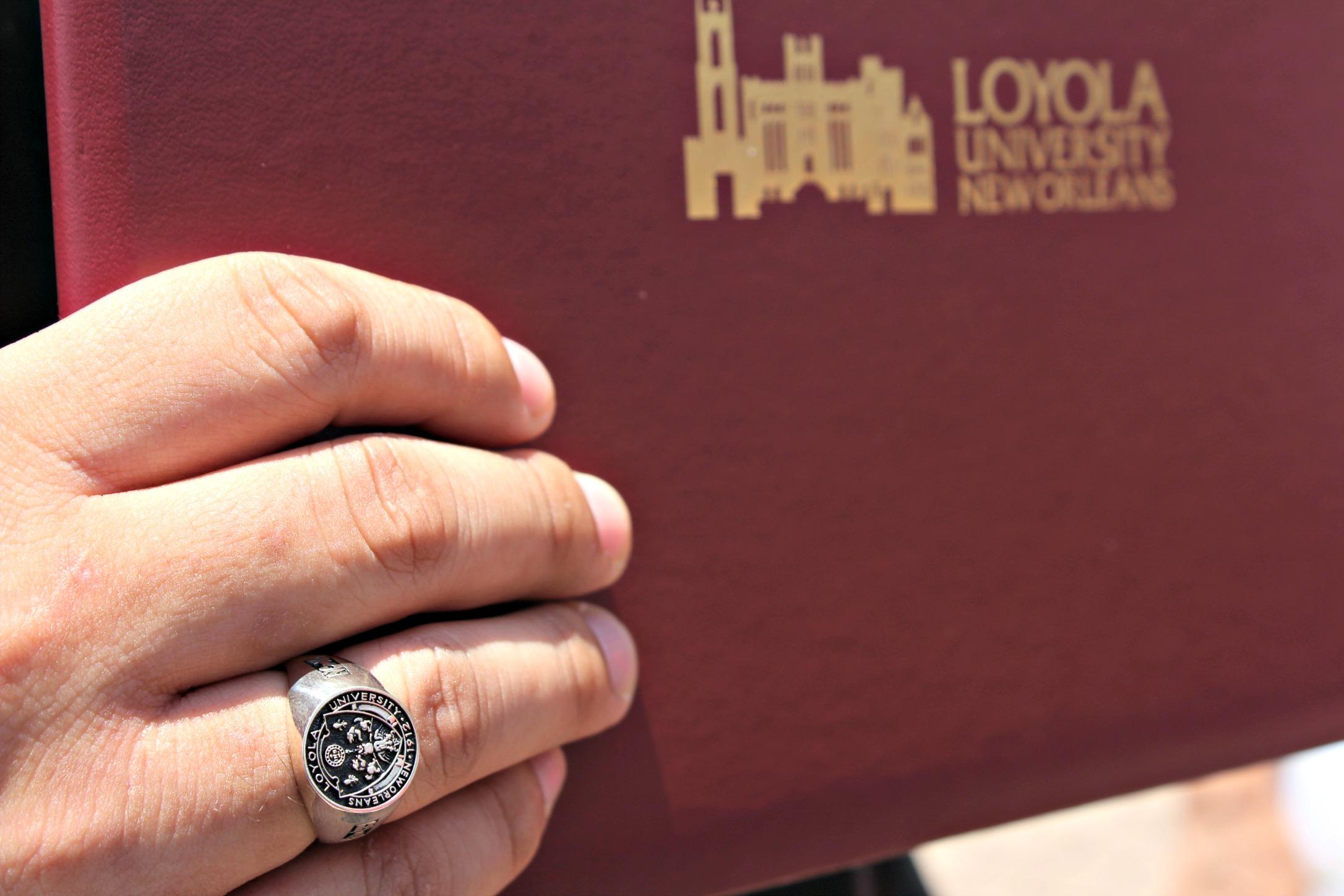 New Orleans Loyola Graduation
