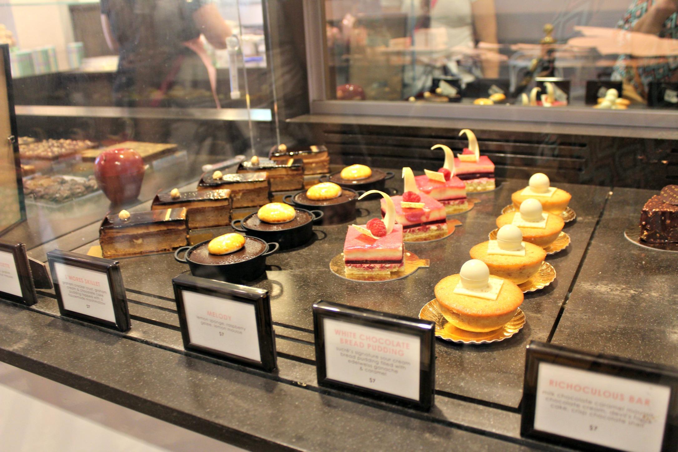 New Orleans Sucre desserts