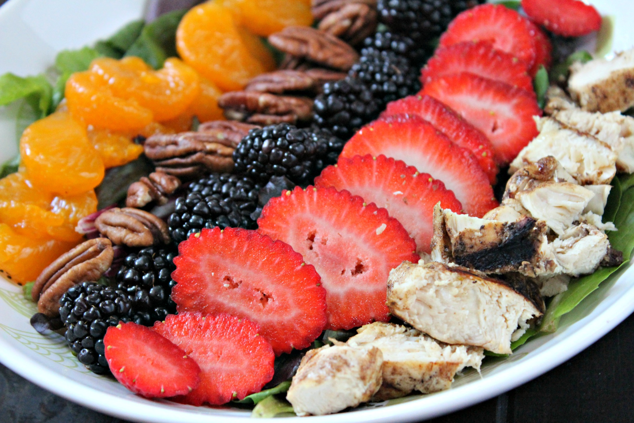 Strawberry & Chicken Salad 4